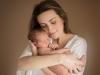 Nyfödd Familjebild Familjefotograf Nyföddfotograf