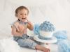 Smash the cake Blå