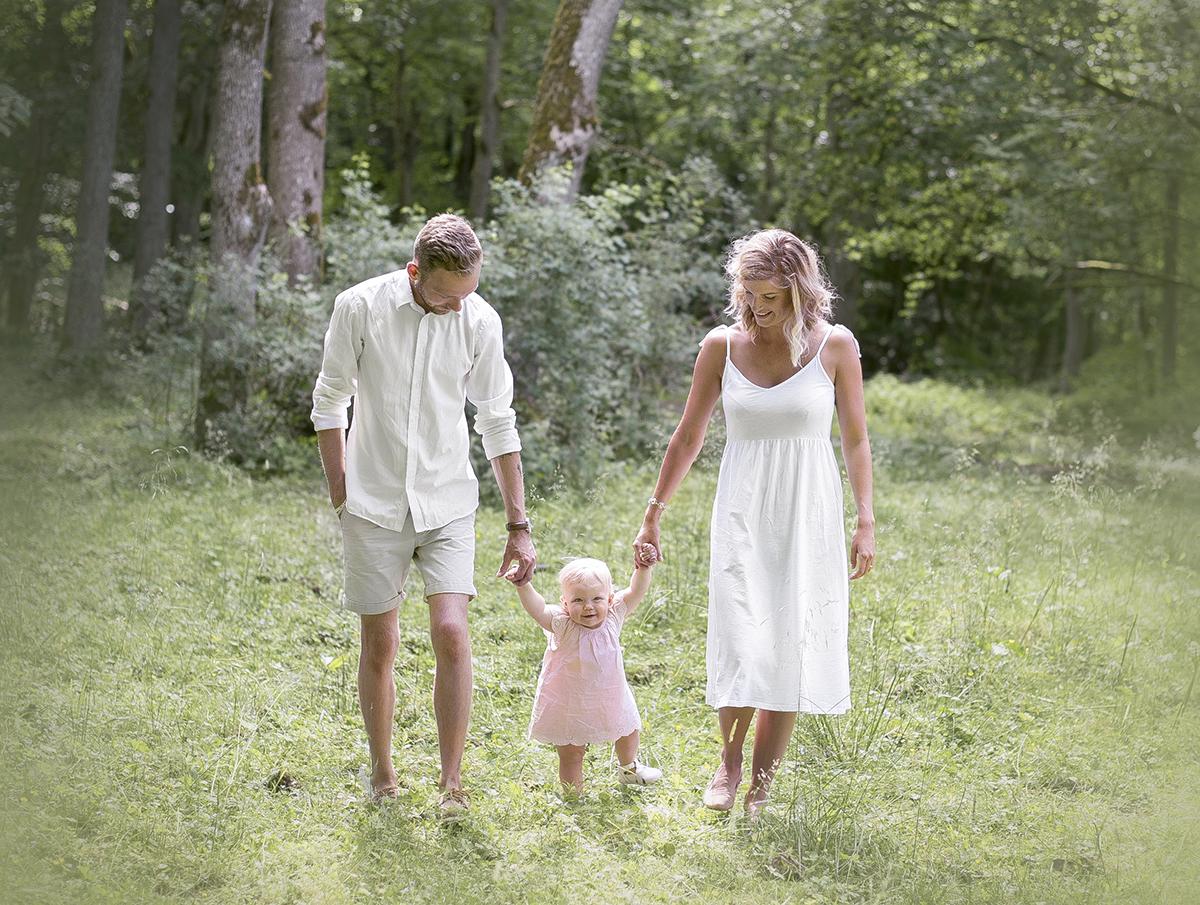 kombinera 1årsfotograferingen med att ta lite familjekort